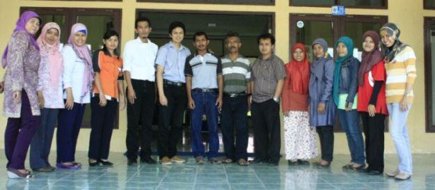 Bersama guru - guru SMKN1 Bontang